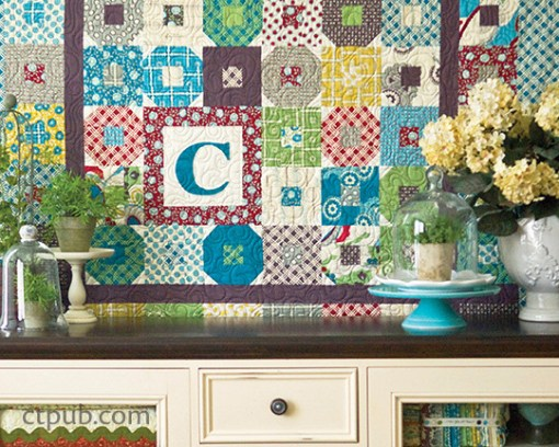 Retro Block Quilt Pattern