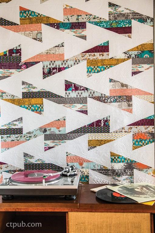 Retro Zigzag Quilt Pattern