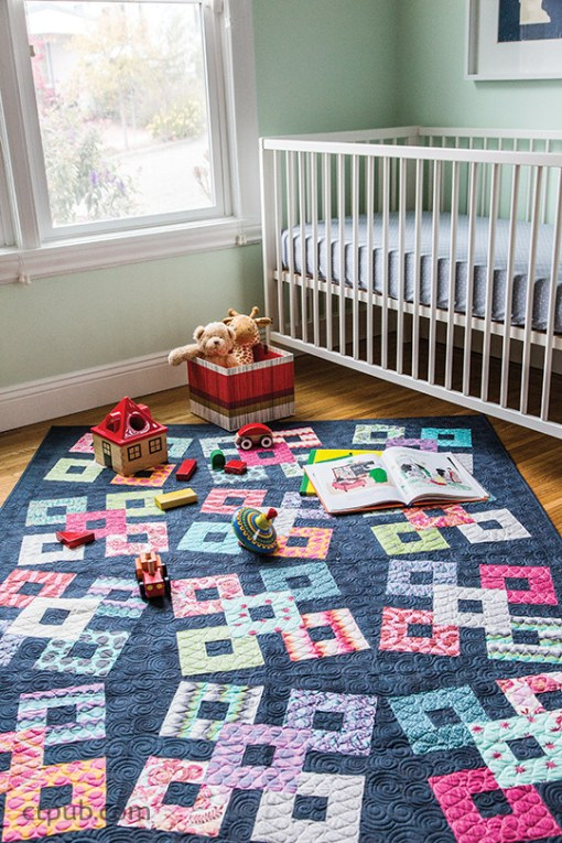 Stack Squares Quilt Pattern