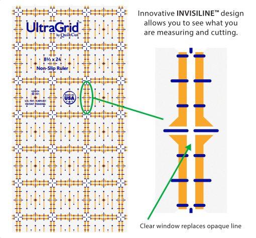 Invisiline features