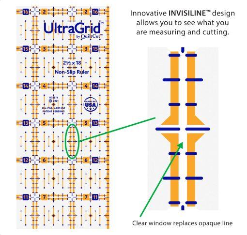 2.5x18 invisiline