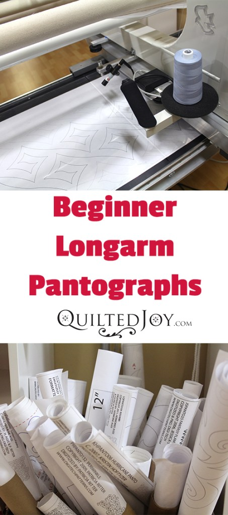 Recommended Beginning Longarm Pantographs