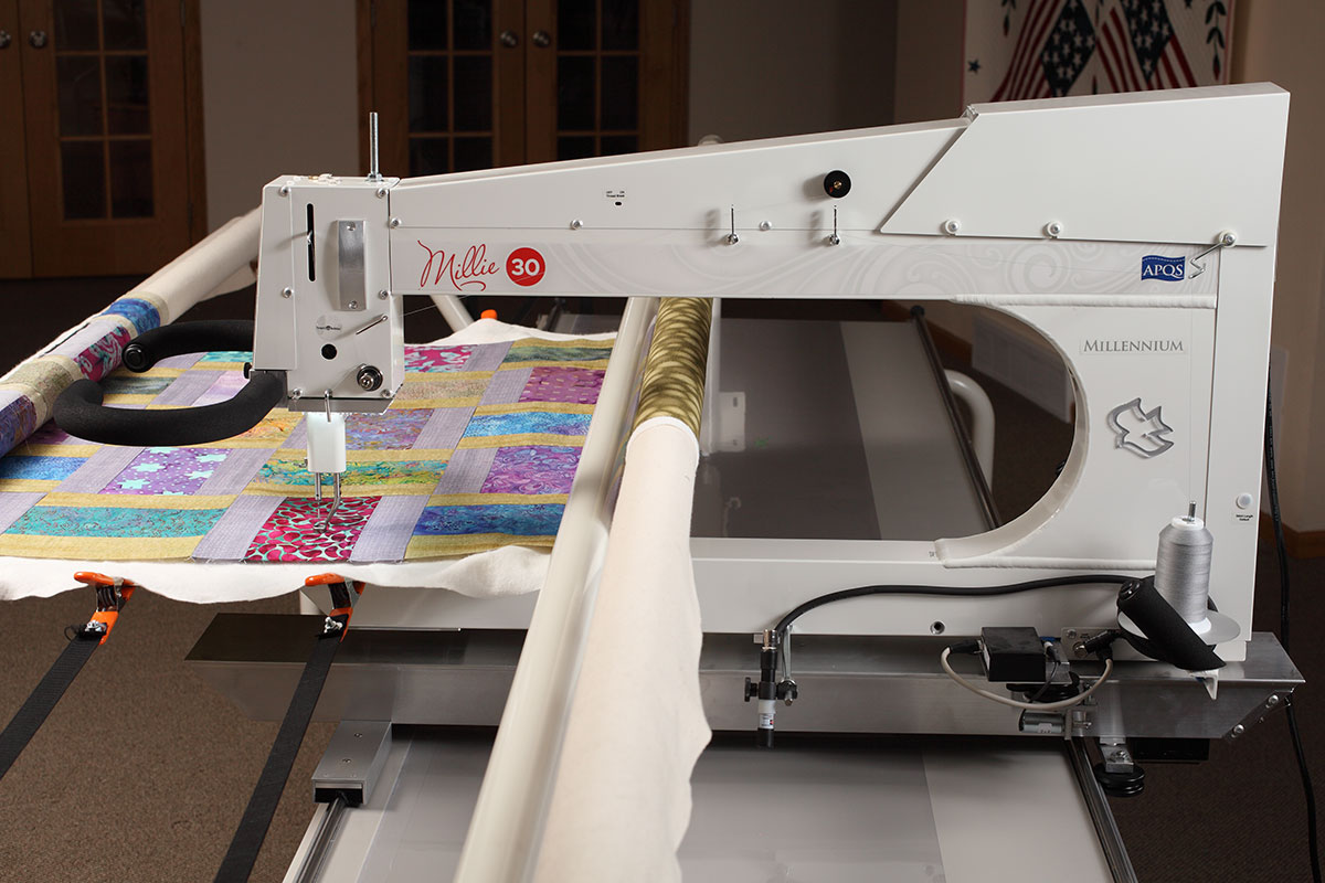 Used Apqs Longarm Quilting Machines With Factory Warranty