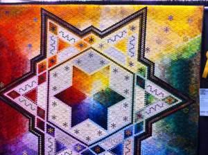 Star Hexagon quilt