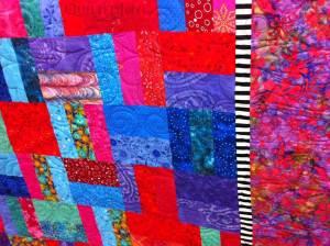 Amy Batik quilt