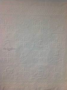Nursery Rhymes Back Quilt