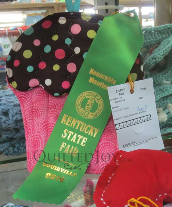 Judge Pot Holders: More Ky State Fair Ribbons- GooseyGirl