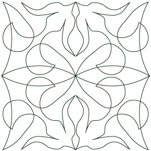 Digital long arm quilting designs