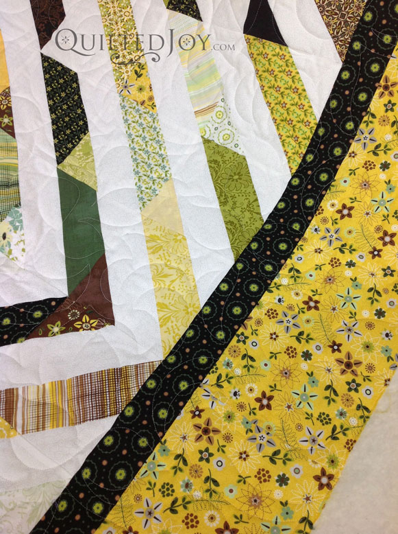 Lime Tree quilt pantograph pattern