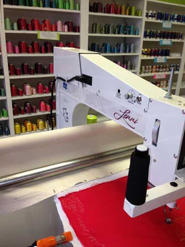 Quilted Joy Apqs Longarm Quilting Machine Showroom