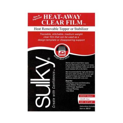 Sulky_heat_away_clear_film