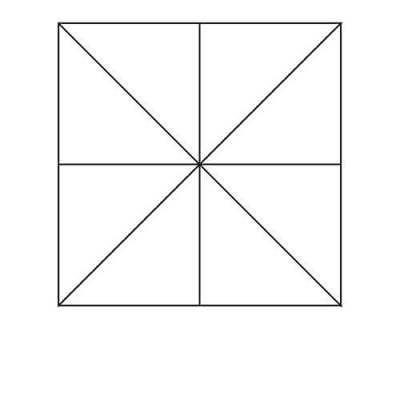 Pinwheel Block Outline