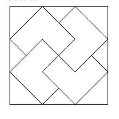 Card Trick Block Outline