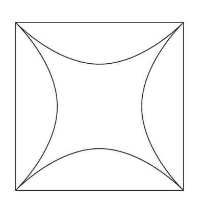 Double Wedding Ring Block Design
