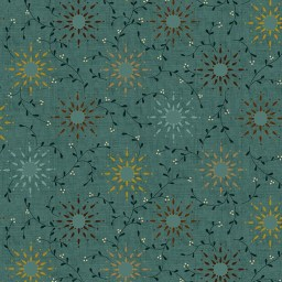 "Prairie Vine 108"" width wide back fabric. Now available at QuiltedJoy.com"