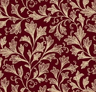 """A dense fan floral design. 108"""" wide backing fabric, 100% cotton. Available at QuiltedJoy.com"""