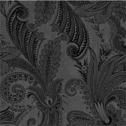 "Marrakesh in Black 108"" wide back fabric. Now available at QuiltedJoy.com"