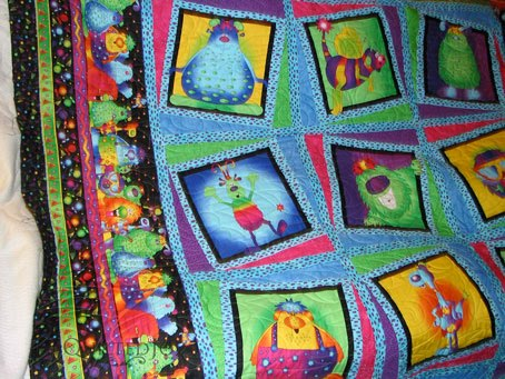 Wendys Monster Quilt