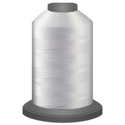 Super White Glide Thread 10002 5000m Cone
