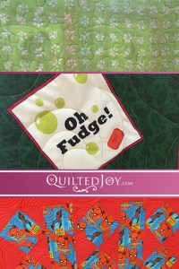 Our renters are always working on such fun quilts! - QuiltedJoy.com