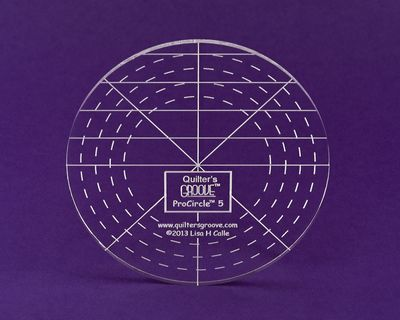 quilters groove circle ruler