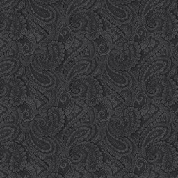 "Paisley Black 108"" wide quilt back fabric"