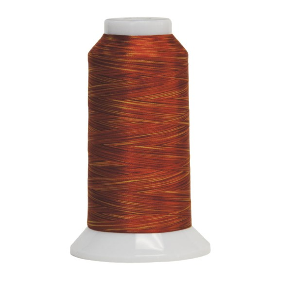 Fantastico Variegated Quilting Thread #5045 Blaze