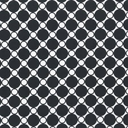 "108"" Wide Back: Black Circles"