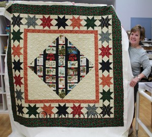 Christmas Panel Quilt