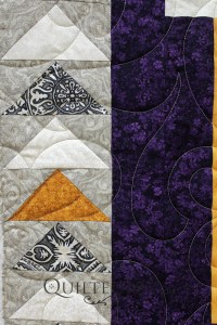 Discover your love for patchwork and learn a basic quilting element, the flying geese.