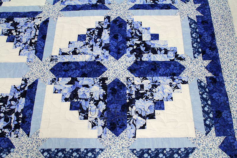 One Log Cabin Block Four Totally Different Quilts