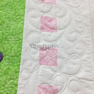 Feathers for the Chickens Among Us, machine quilting class taught by Angela Huffman