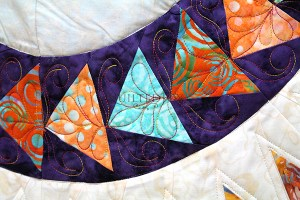 Essential Skills: Beginning Custom Quilting on the Longarm, class taught by Angela Huffman