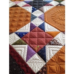 Longarm machine quilting by Linda Hrcka of The Quilted Pineapple