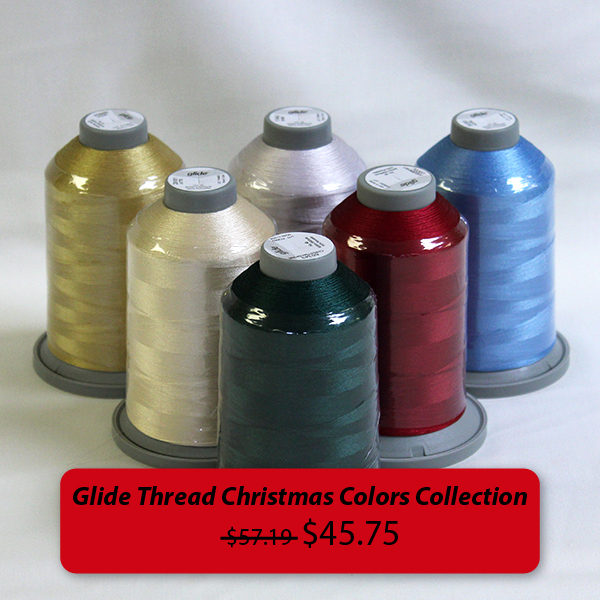 Glide Thread Christmas Colors Collection was $57.19, on sale for $45.75