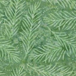 Delicate Fronds / Light Green by Wilmington Batiks. 1054 2082 771. Available at Quilted Joy.com.