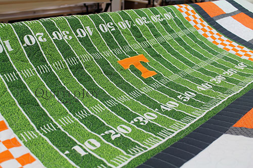 University of Tennessee Panel Quilt