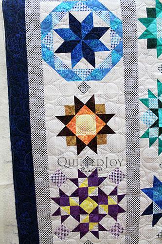 Kathy Blue Stars Sampler Quilt