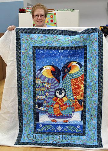 Penguin Panel Quilt
