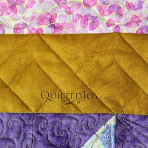 Sit Down Machine Quilting With Rulers Spotlight: Straight Edge