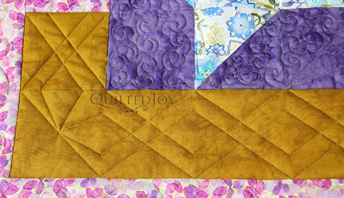 Garden Trellis Ruler Quilting Border Design