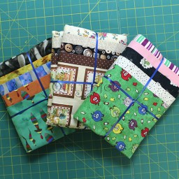Mystery Fabric Bundle with 5 one yard cuts of fabric