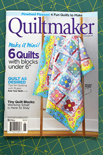 Quiltmaker Magazine May June Issue