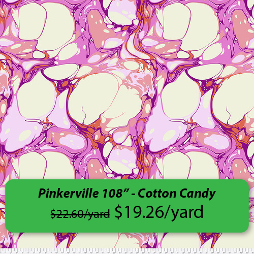 """""""Pinkerville 108 inch - Cotton Candy"""""""