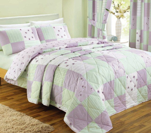 King Size Green Quilts