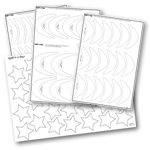 Mini Geese Ruler Set by Quilt in a Day 735272020202