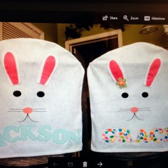 Dollar Tree Easter Chair Covers Sling Back Chairs Here Comes Peter Cottontail Bunny