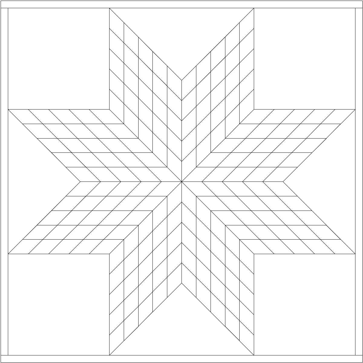 Looking for Lone Star pattern to color in
