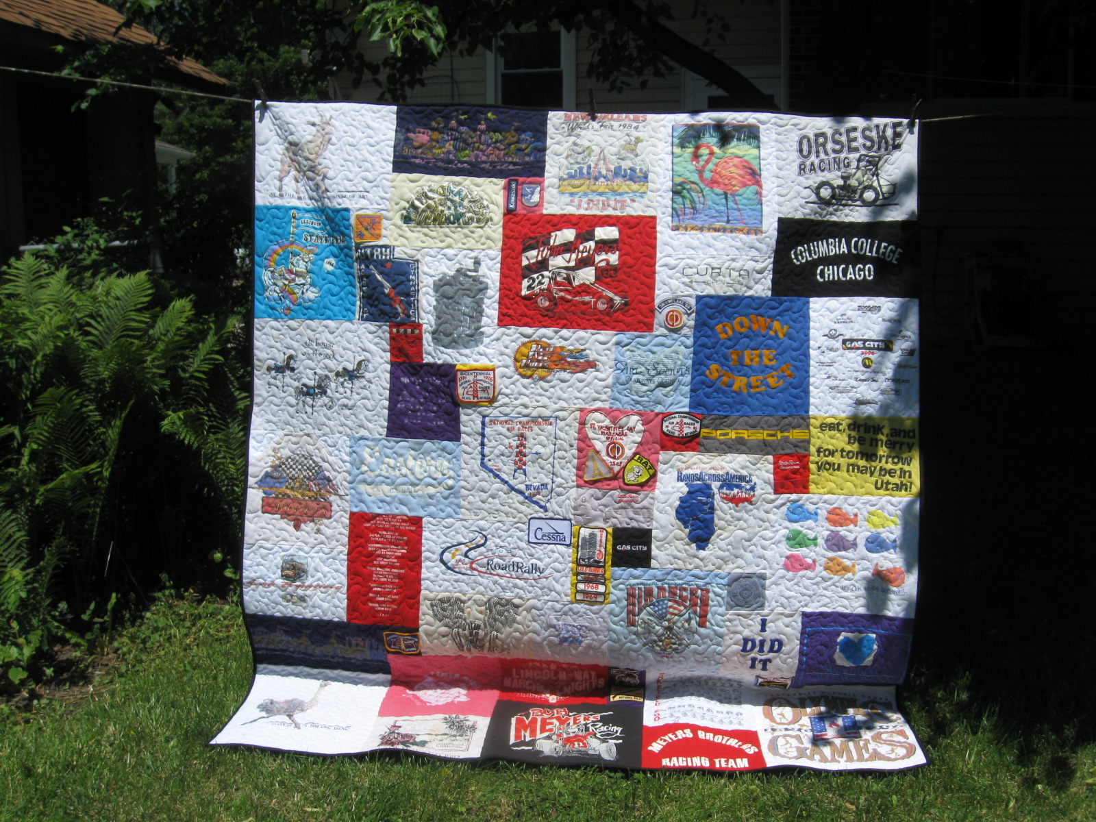 T Shirt Quilt Fleece Backing