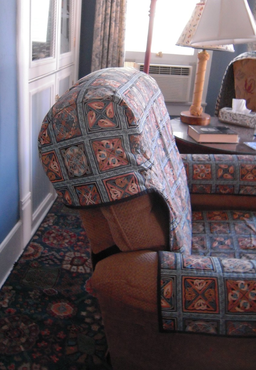 Quilted Recliner Slipcoverthing